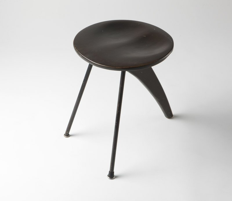 An Isamu Noguchi 'Rudder' stool model IN-22
