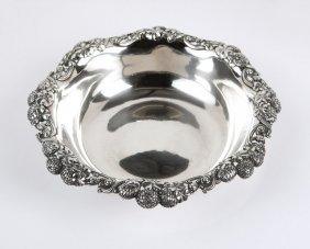 A Tiffany & Co 'Chrysanthemum' sterling bowl
