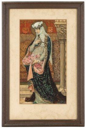 Elisabeth  Sonrel  (1874-1953 French)
