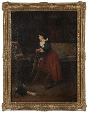 Casimir  van den Daele  (1818-1880 Belgian)
