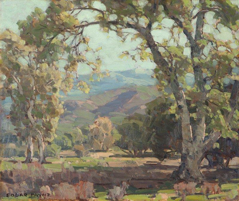 Edgar Alwin Payne (1883-1947 Hollywood, CA)