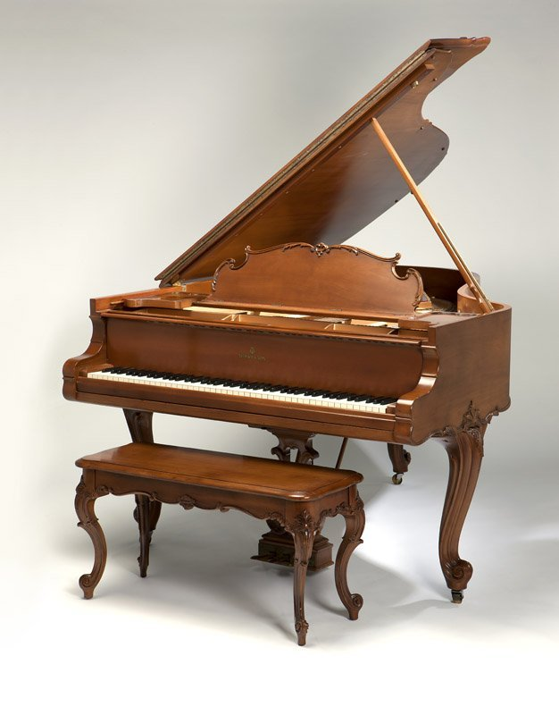 A Steinway Model O Louis XV grand piano