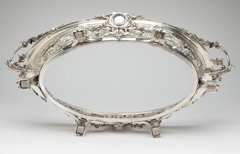 A monumental Christofle silver-plated jardiniere - 4
