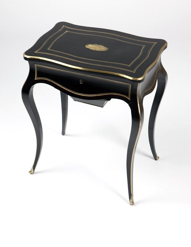 A Louis XV style vanity table