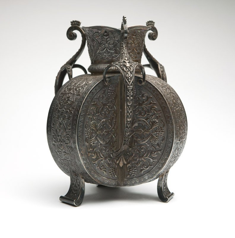 A Russian silver vase, A. Kuzmichev for Tiffany & Co