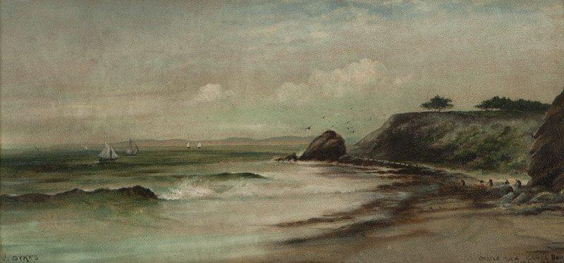 John Sykes (1859-1934 Santa Barbara, CA)