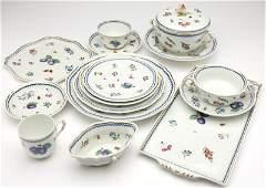A Richard Ginori 'Italian Fruit' porcelain service