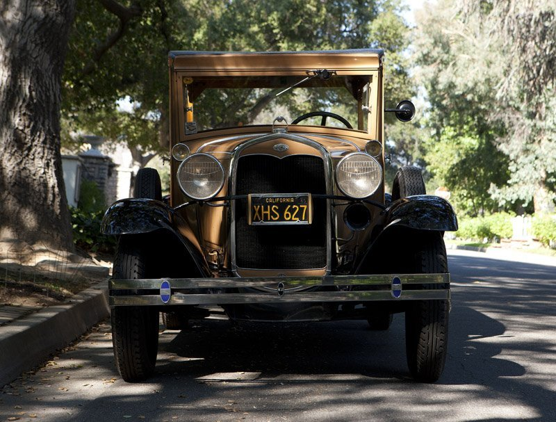 A 1931 Ford Model 'A' woody station wagon - 2