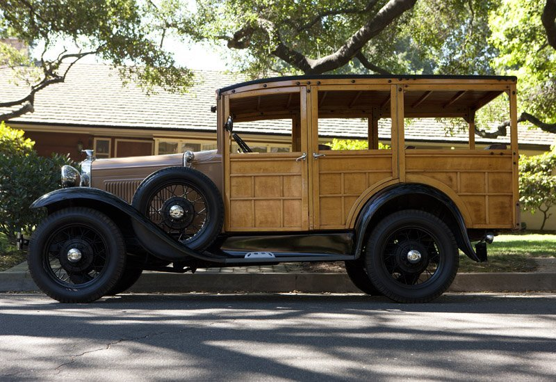 A 1931 Ford Model 'A' woody station wagon - 4