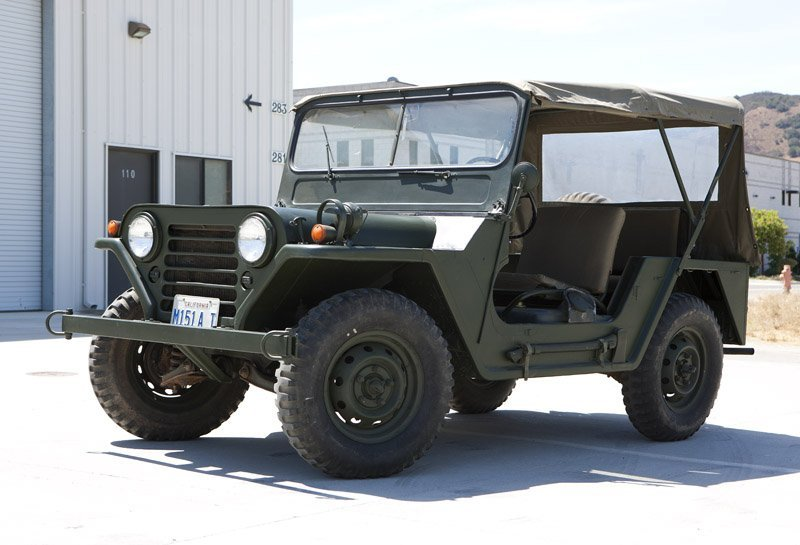 A 1968 Ford 151-A1 MUTT 1/4 ton 4x4