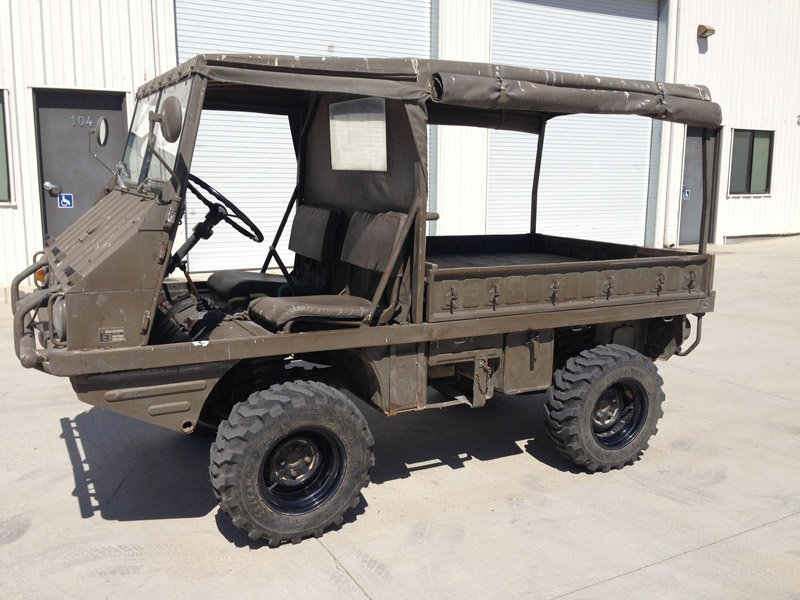 A 1969 Steyr / Puch Haflinger military vehicle