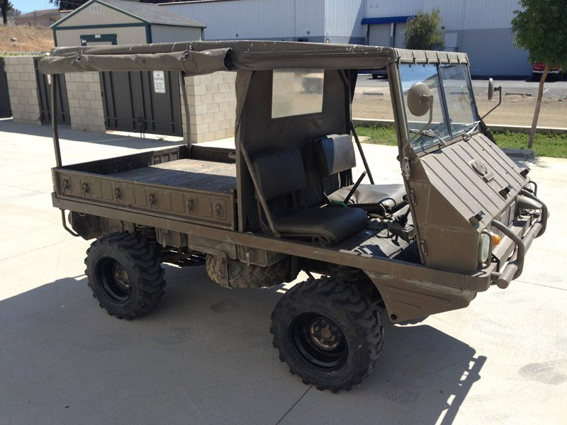 A 1969 Steyr / Puch Haflinger military vehicle - 2