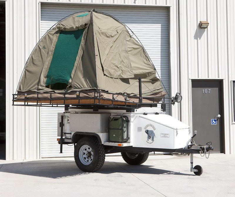 A 2000 Conqueror safari tent trailer