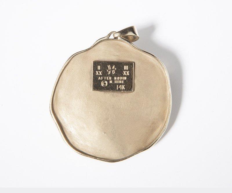 An M.Hime gold pisces pendant - 2