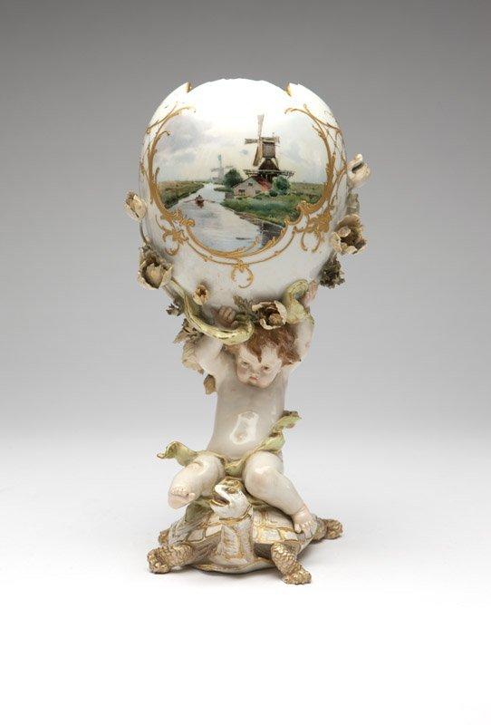 A Berlin porcelain vase