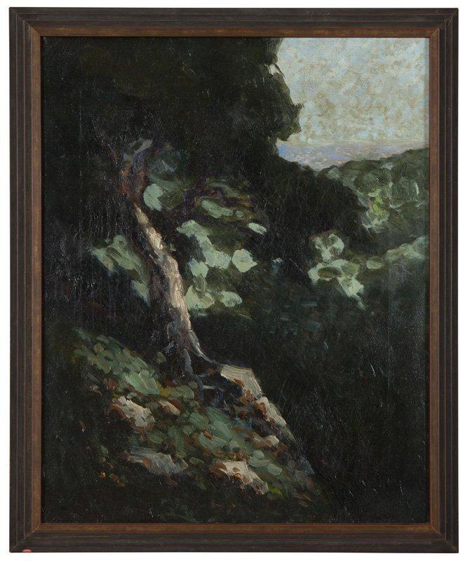 Attributed to William Keith (1838-1911 Berkeley, CA)