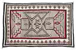 A Navajo regional room-sized rug