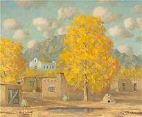 Thomas L. Lewis (1907-1978 Taos, NM)