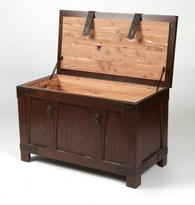 An Arts & Crafts Cedar-lined Chest, Voorhees