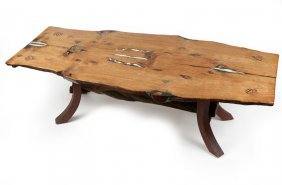 A Live-edge Dining Table, Andy & Aaron Sanchez