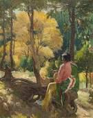 Joseph Henry Sharp (1859-1953 Taos, NM)