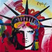 Peter Max (1937-* New York, NY)