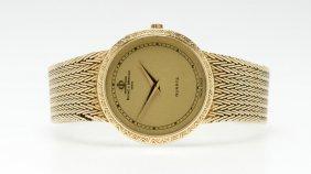 A Baume & Mercier Gold Quartz Wristwatch