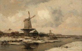 Willem George Frederik Jansen (1871-1949 Dutch)