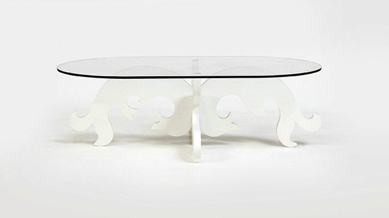 An Eva Zeisel coffee table