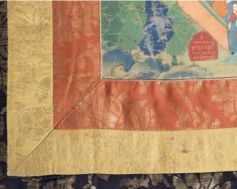 18th Century Sino-Tibetan style Thangka, Buddha - 8
