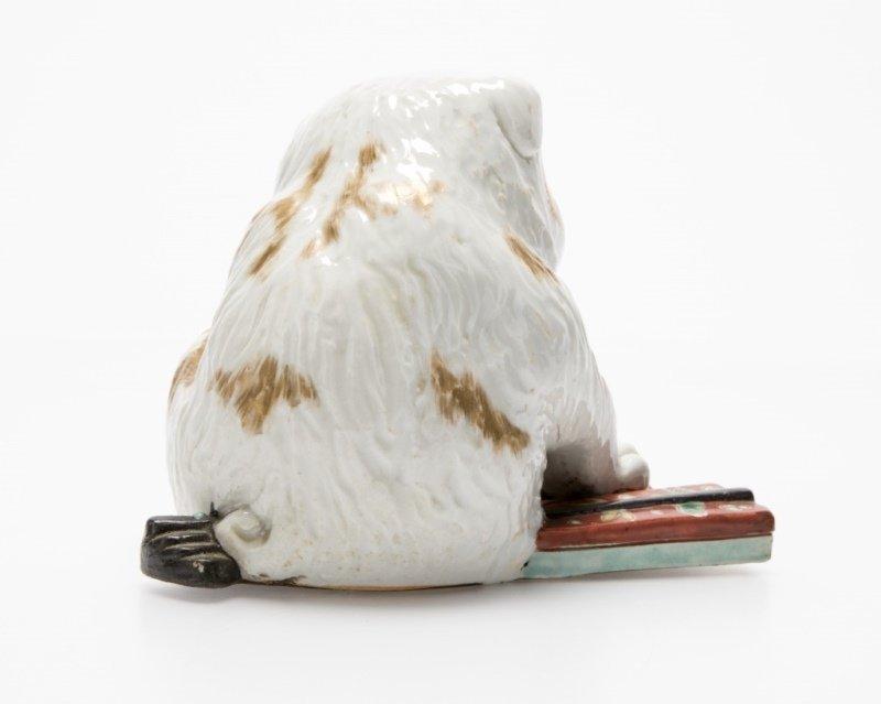 A Japanese porcelain Kutani puppy - 2