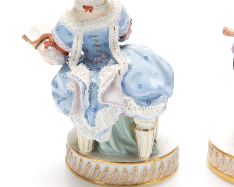 Two Meissen porcelain figures - 3