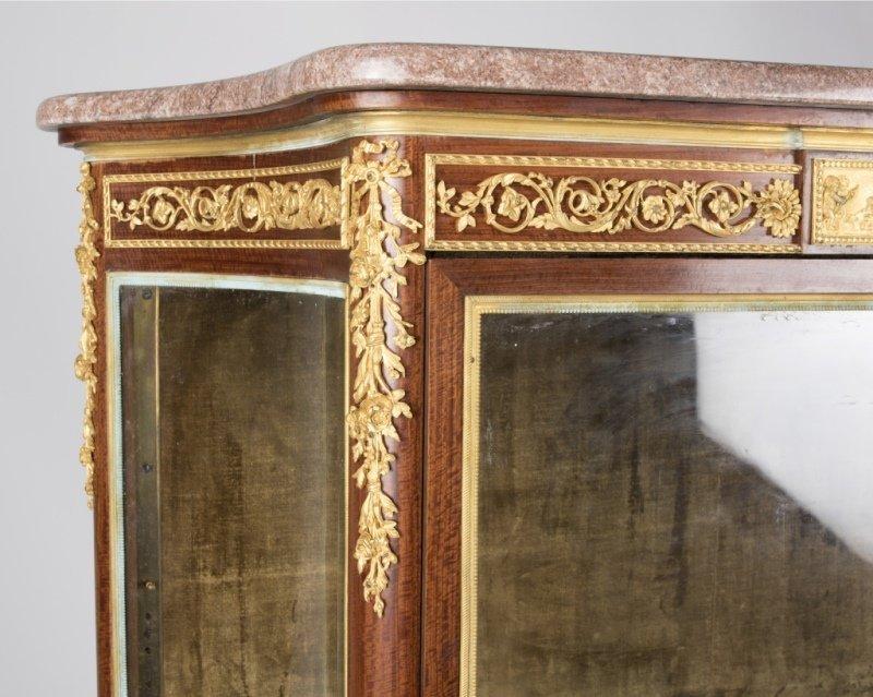 A Louis XV-style bronze-mounted vitrine, F. Linke - 2