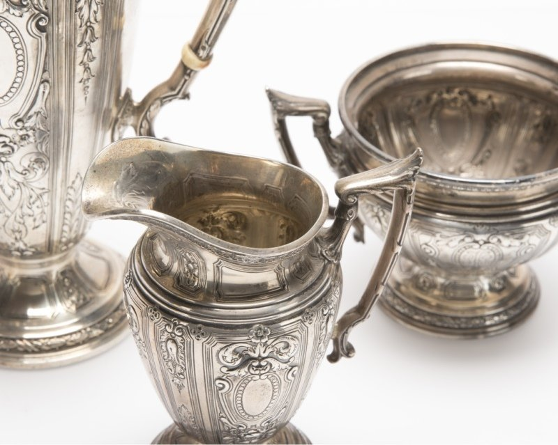 A Gorham sterling silver coffee service - 3