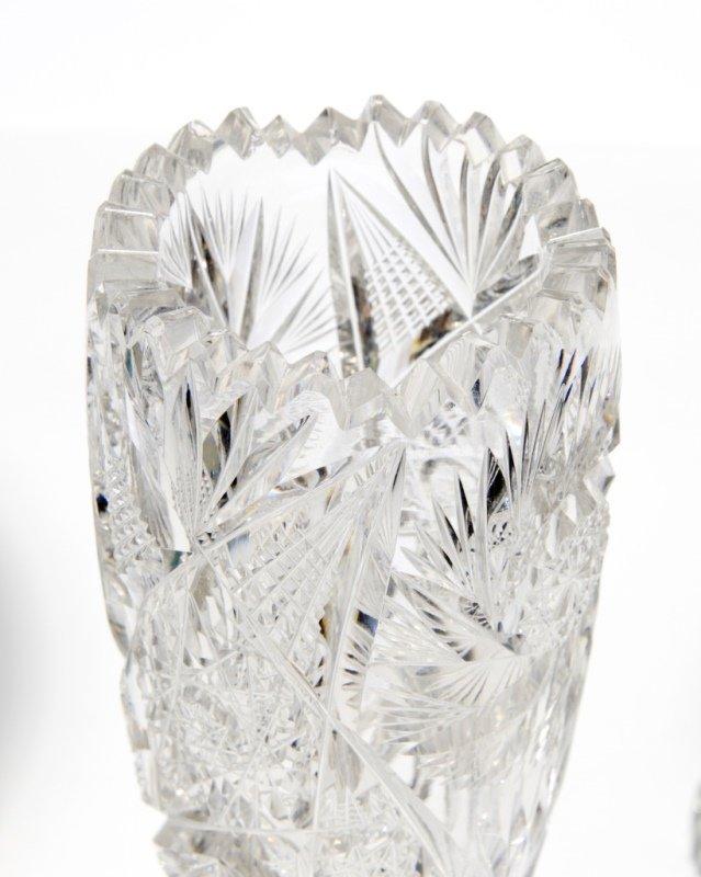 Three American brilliant-cut glass objects - 2