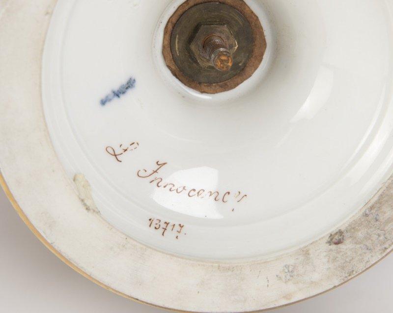 A Berlin / KPM gilt bronze-mounted porcelain vase - 4