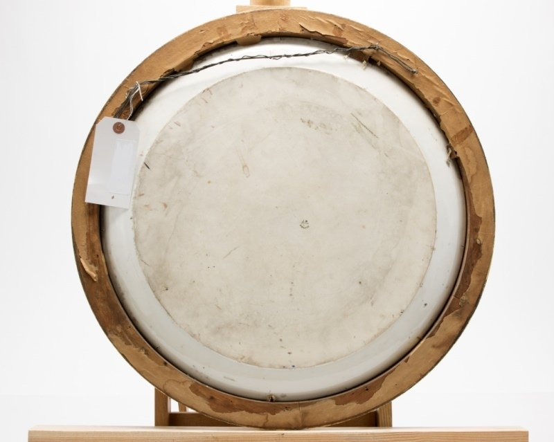 A Jean Pouyat Limoges framed hand-painted charger - 2
