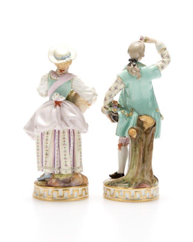 Two Meissen porcelain figures - 2