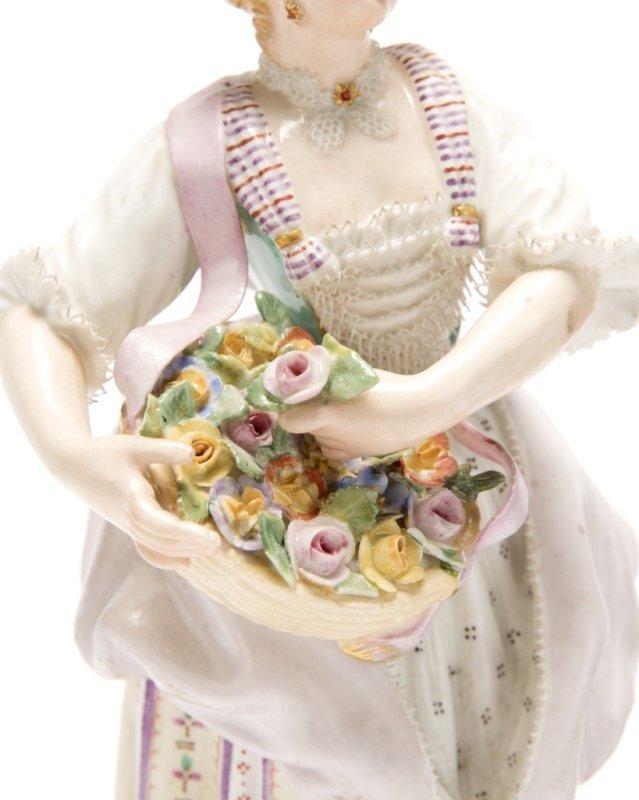 Two Meissen porcelain figures - 4
