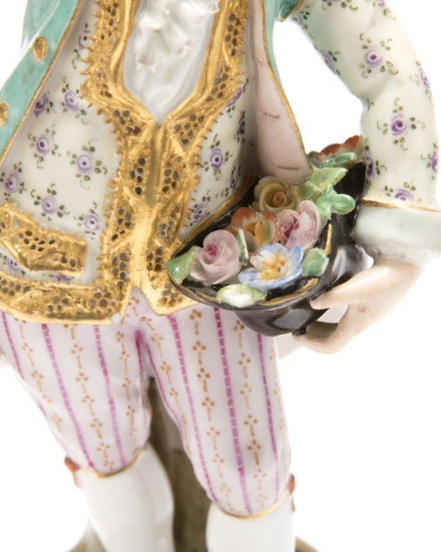 Two Meissen porcelain figures - 5