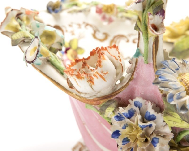 A group of English and German porcelain - 10