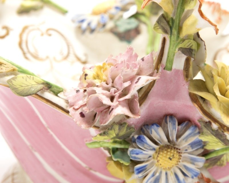 A group of English and German porcelain - 6