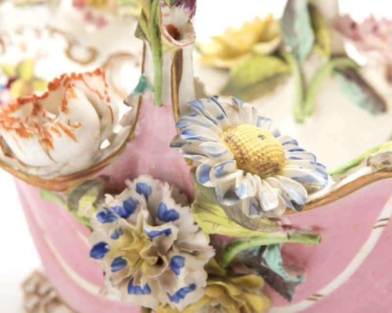 A group of English and German porcelain - 7