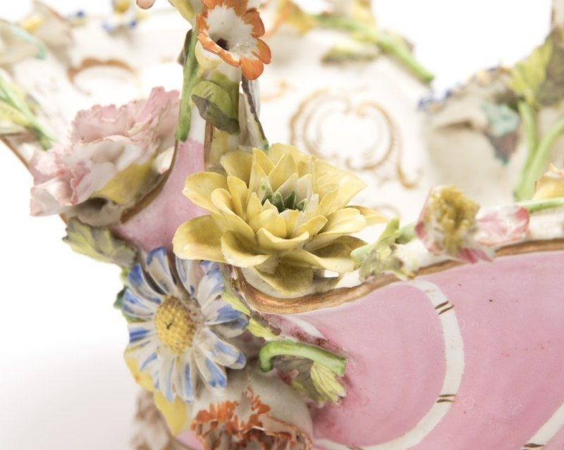 A group of English and German porcelain - 9
