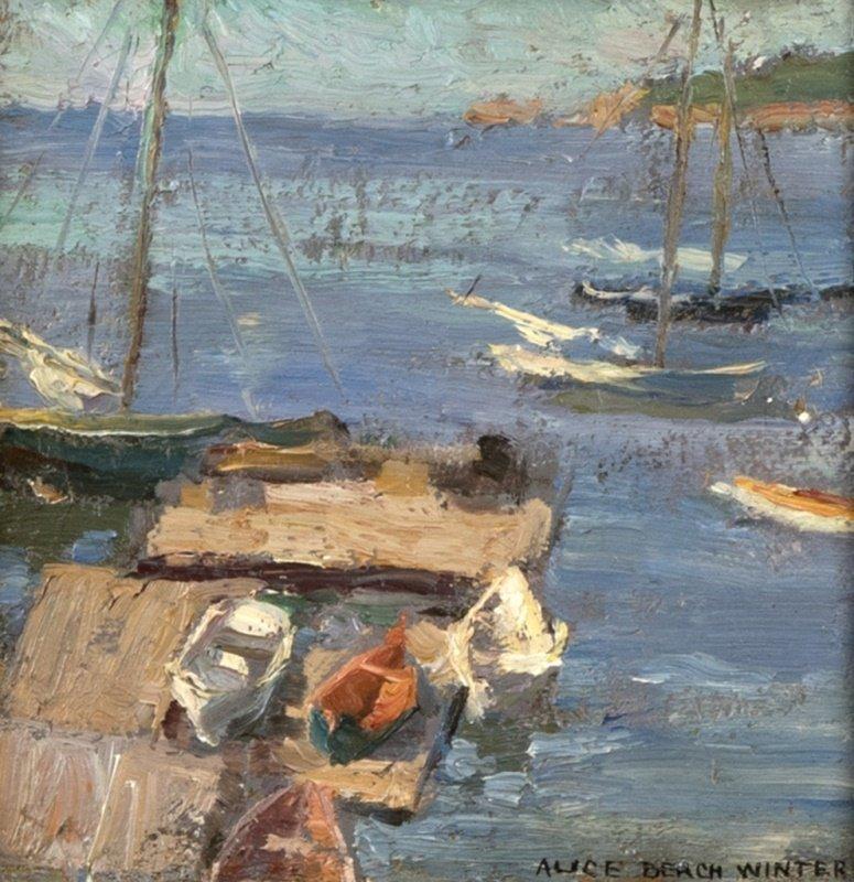 Alice Beach Winter (1877-1970 Gloucester, MA)