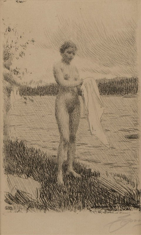 Anders Zorn (1860-1920 Swedish)