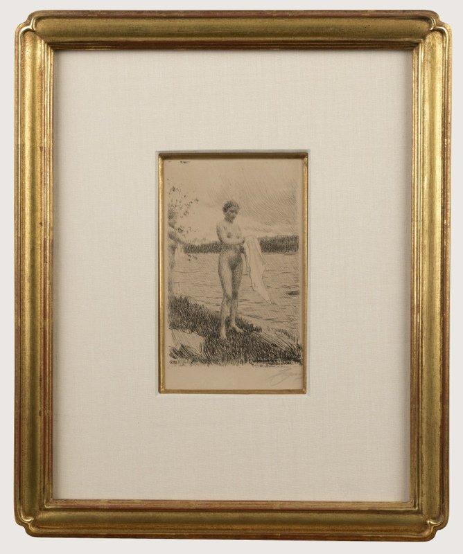 Anders Zorn (1860-1920 Swedish) - 2