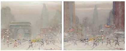 Johann Berthelsen (1883-1972 New York, NY)