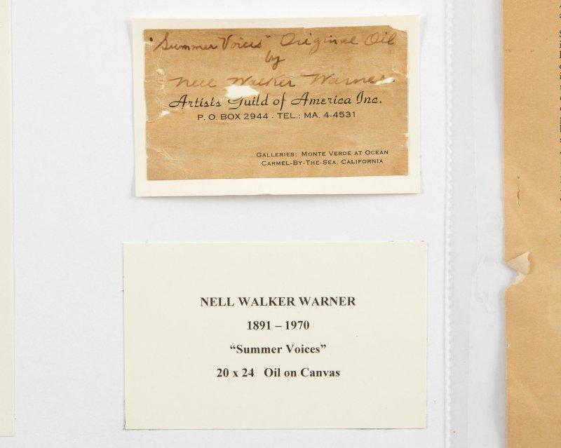 Nell Walker Warner (1891-1970 Carmel, CA) - 4
