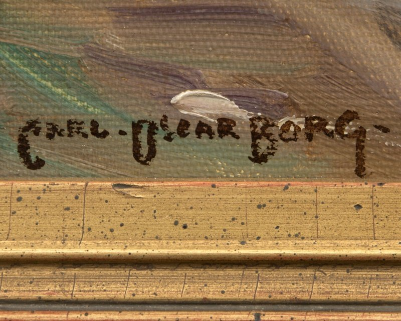 Carl Oscar Borg (1879-1947 Santa Barbara, CA) - 3